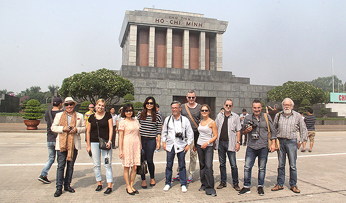 VNAT welcomes FAM trip delegation from Western European countries