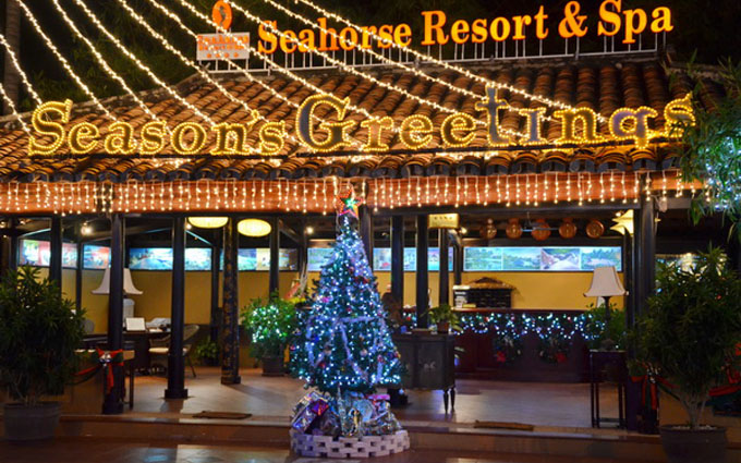 Celebrating Christmas & New Year's Eve 2017 at Seahorse Resort & Spa