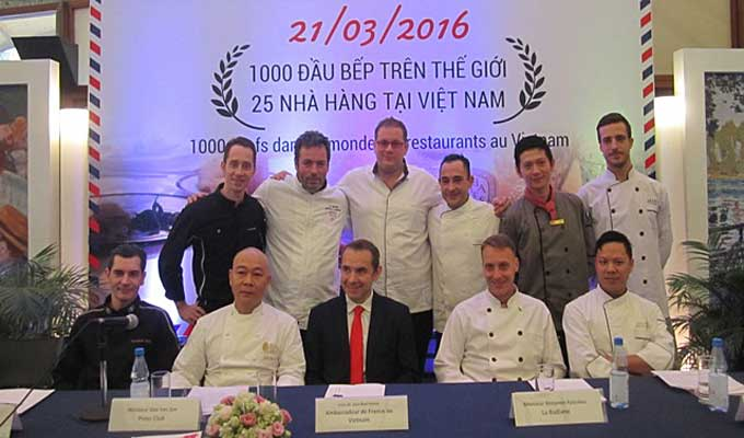 1,000 chefs to participate in French Gastronomy Event in Viet Nam