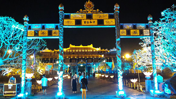 Hue Imperial Citadel officially to open at night from 22 April 2017