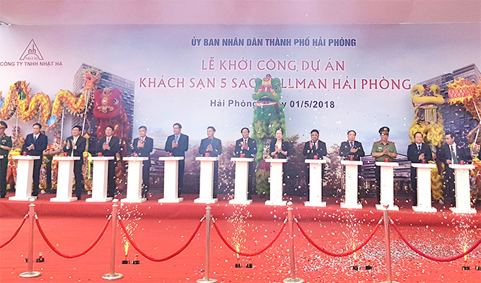 Construction of five-star hotel begins in Hai Phong