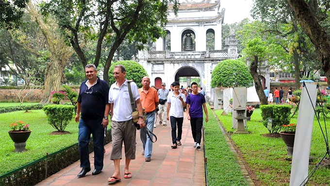 Foreign tourists to Ha Noi up 16 percent over National Day holiday