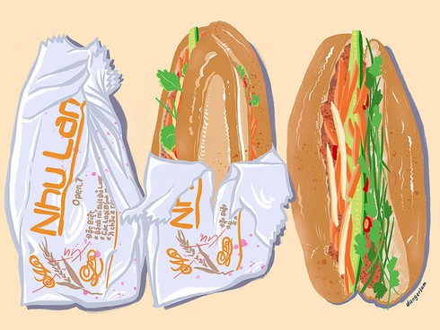 Banh mi, pho add flavor to Australian art project