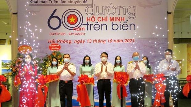 Exhibition marks 60th anniversary of Ho Chi Minh Trail at Sea