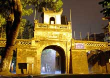 US helps preserve Hanoi's ancient gate